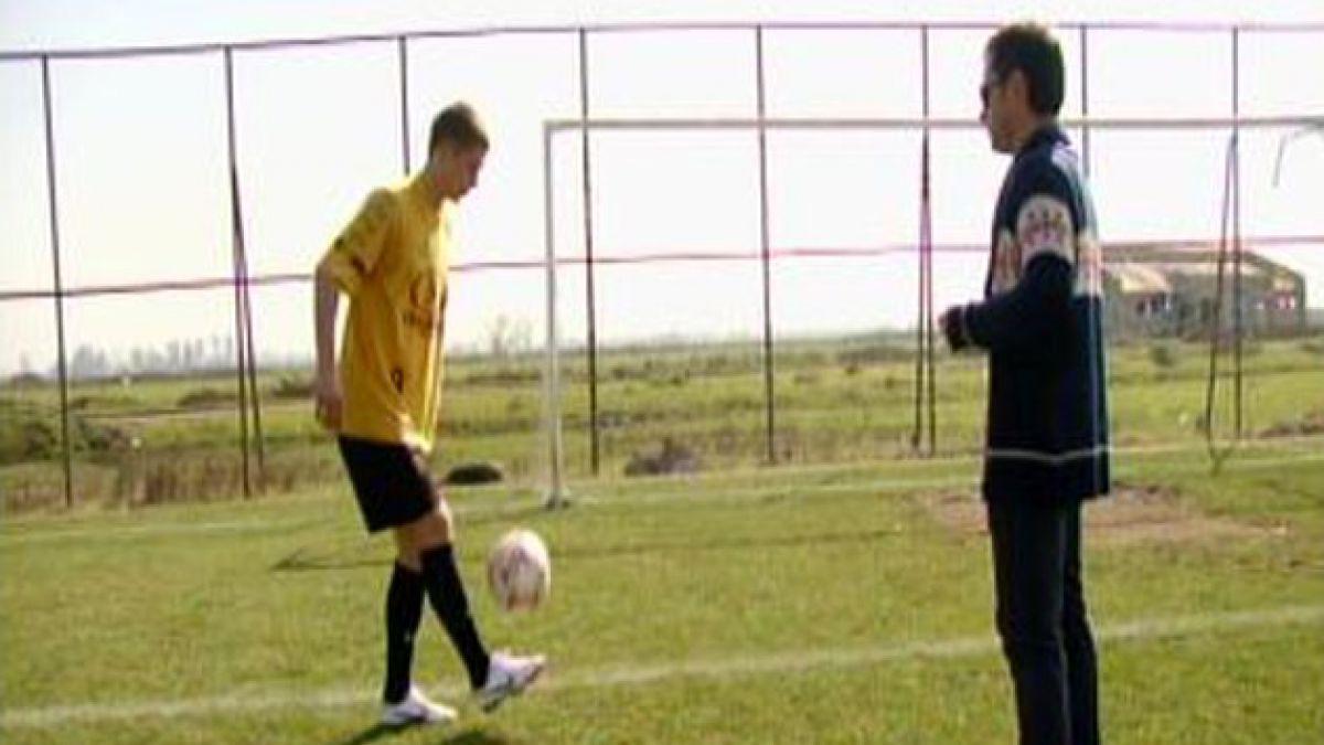Fútbol le entrega nueva oportunidad a joven ruso