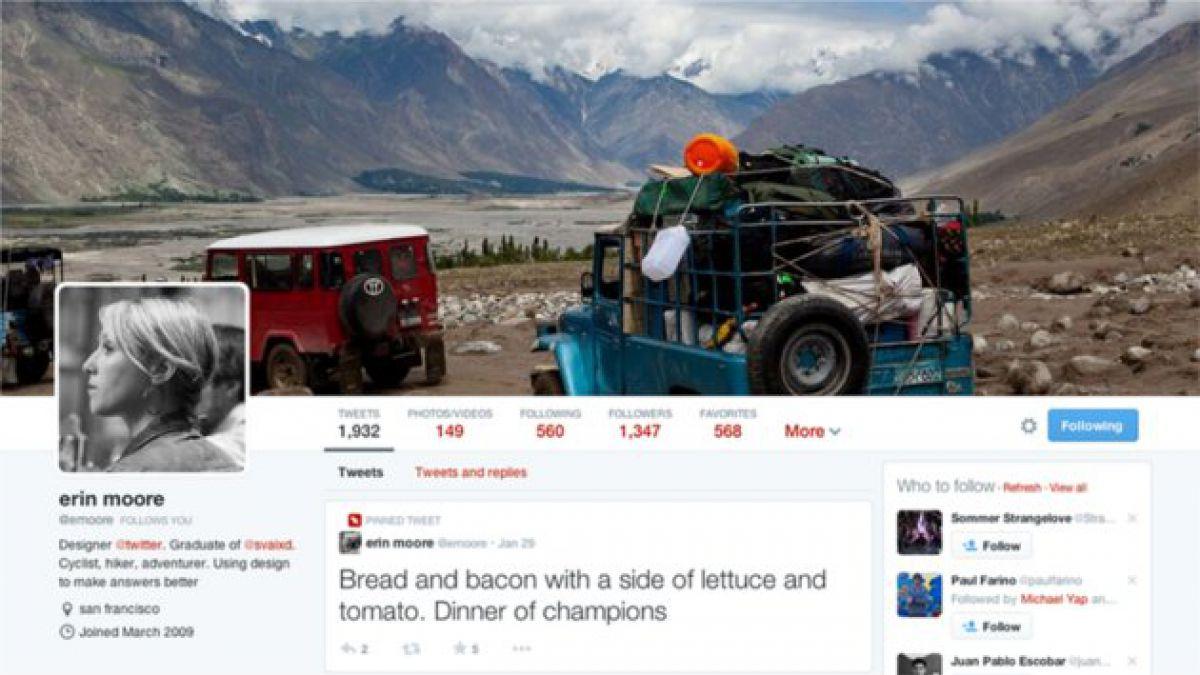 Guía para usar el nuevo perfil de Twitter