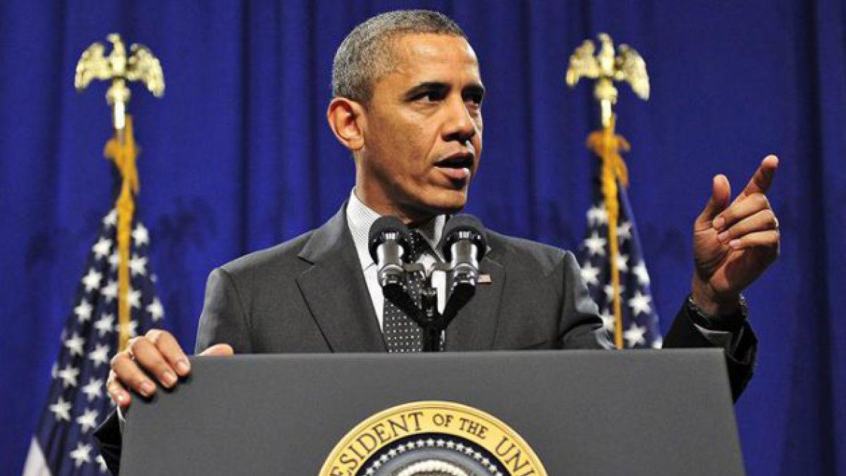 """Obama afirma que acuerdo para evitar """"abismo fiscal"""" está cerca"""