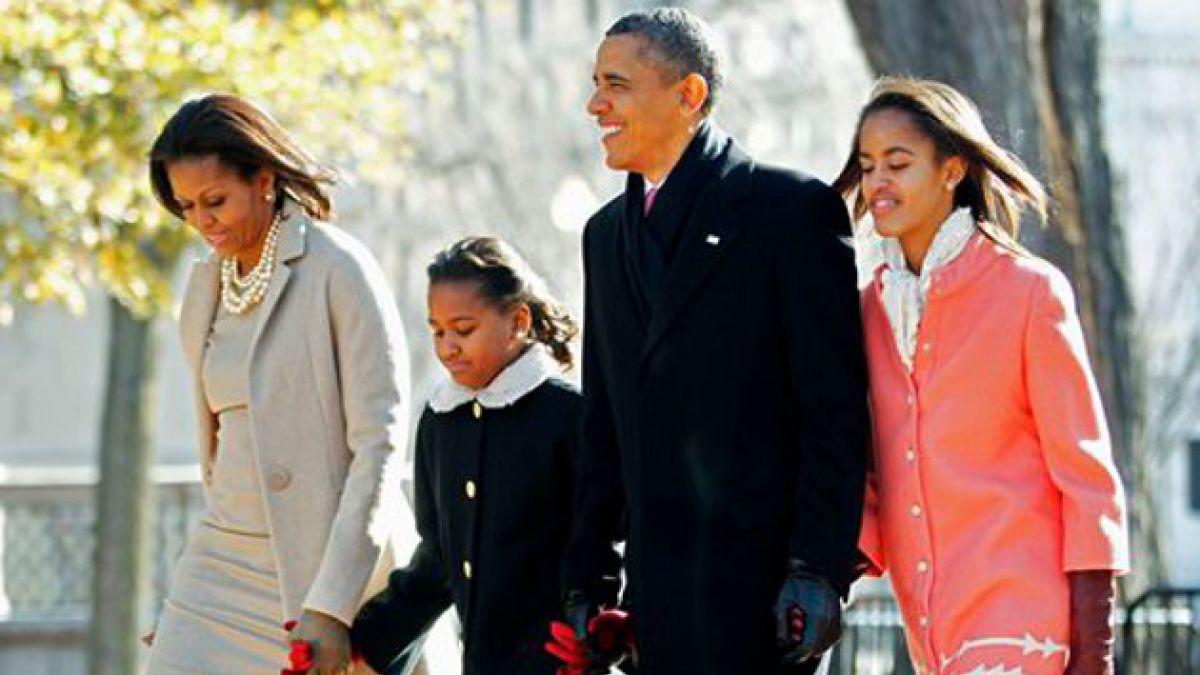 Confirman que hija mayor de Barack Obama se encuentra bien tras terremoto en México