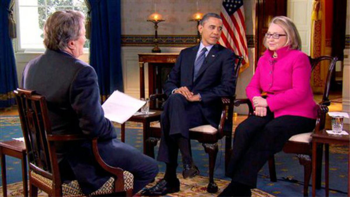 Barack Obama elogió gestión de Hillary Clinton