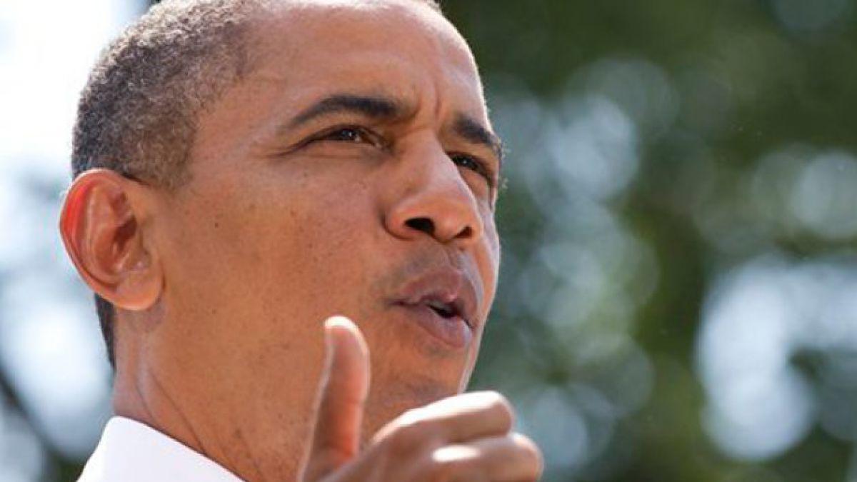 Presidente Obama insinuó eventual intervención en Siria