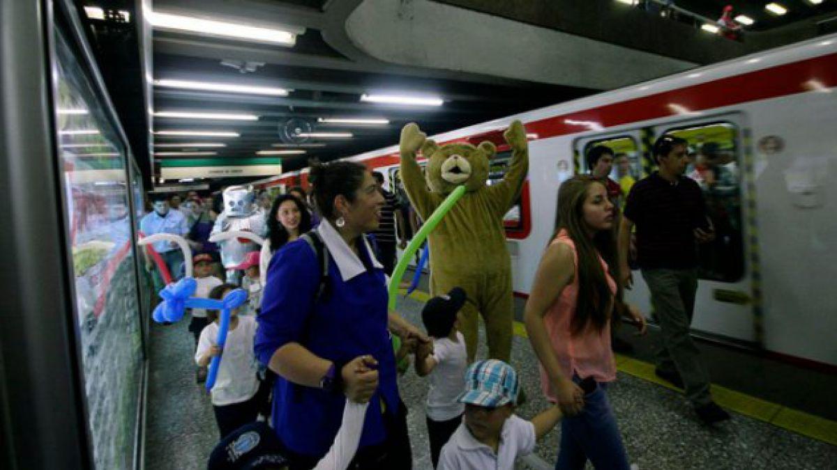Metro lanza campaña para juntar juguetes para niños en riesgo social