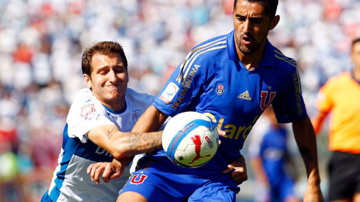 Osvaldo González podría dejar Universidad de Chile