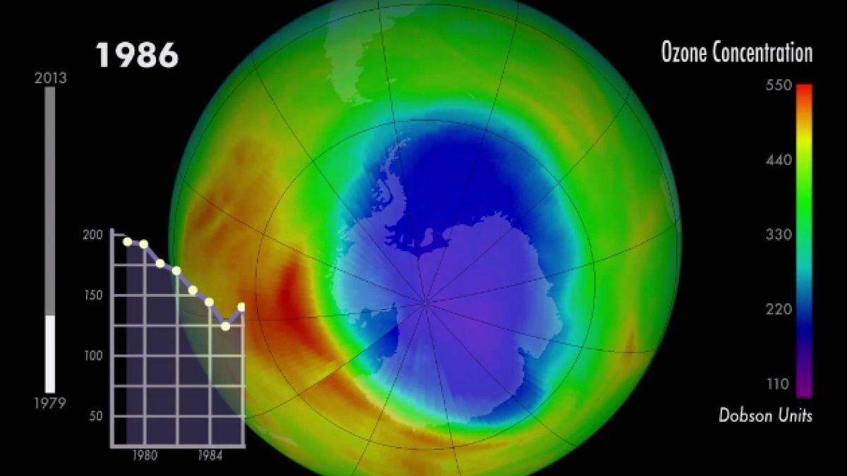 [VIDEO] La capa de Ozono podría regenerarse por completo hacia 2050