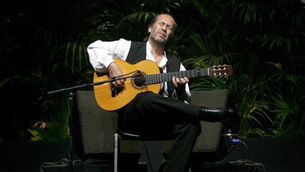 Recuerda lo mejor del flamenco interpretado por el maestro Paco de Lucía