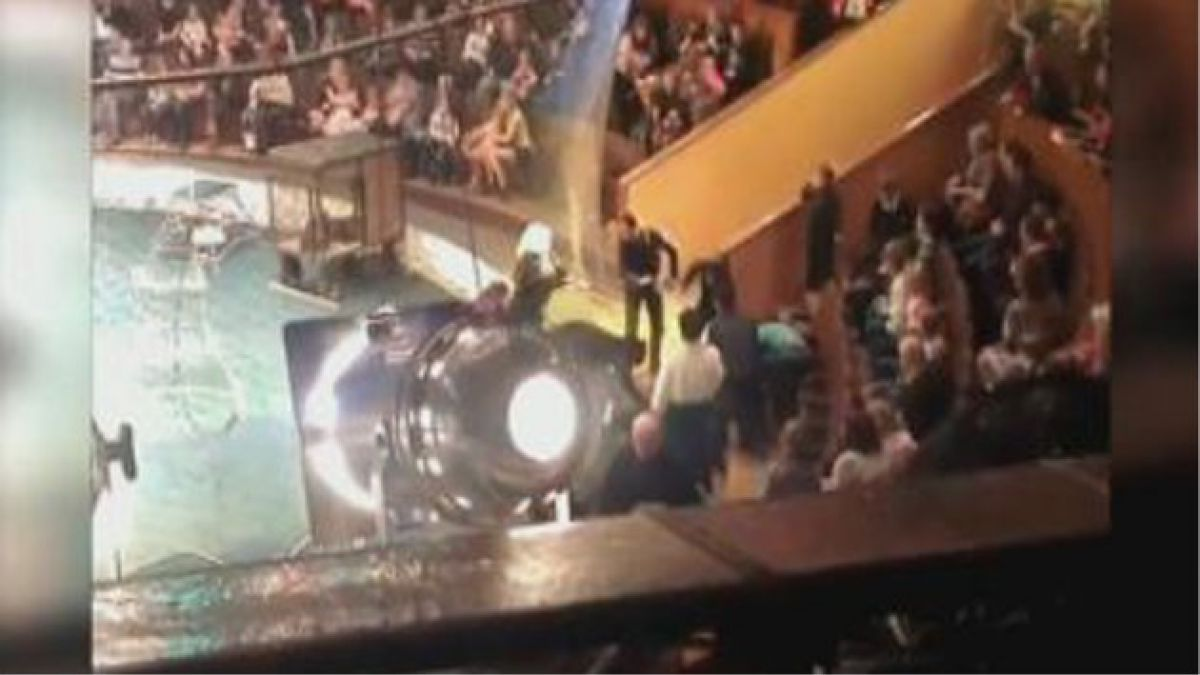 Salvan a mujer tras ser atacada por pantera en circo