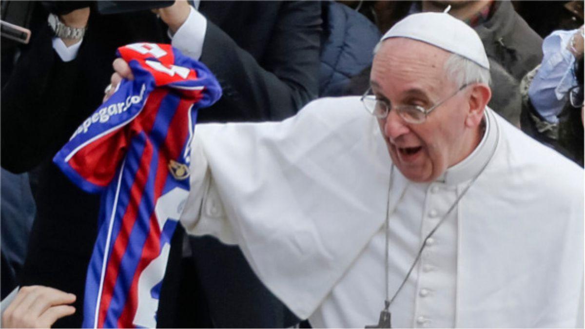 San Lorenzo construirá estatua del Papa Francisco