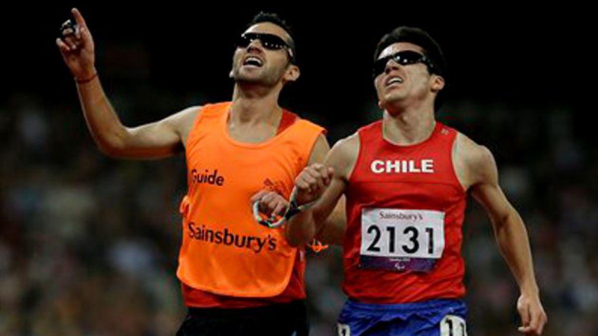 [Paralímpicos] Chileno gana medalla de oro en 5.000 metros
