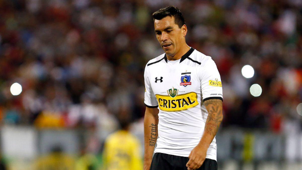 Esteban Paredes fue sancionado con dos fechas