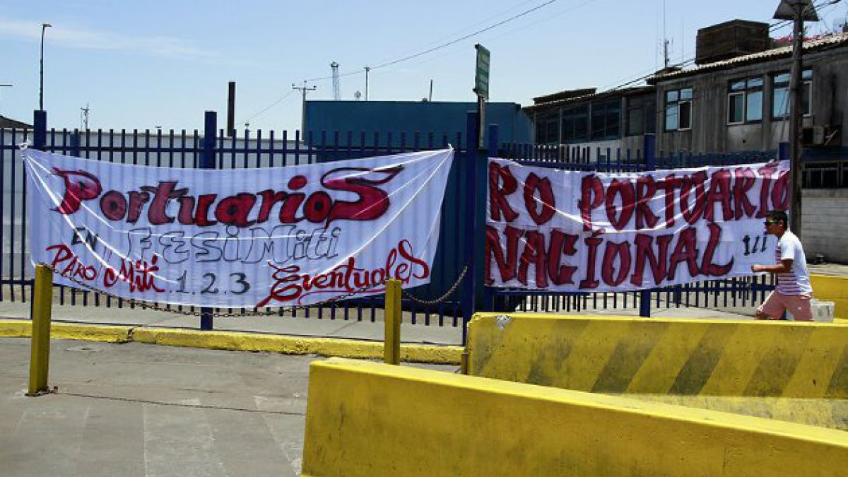 Trabajadores portuarios anuncian que continuarán movilizados
