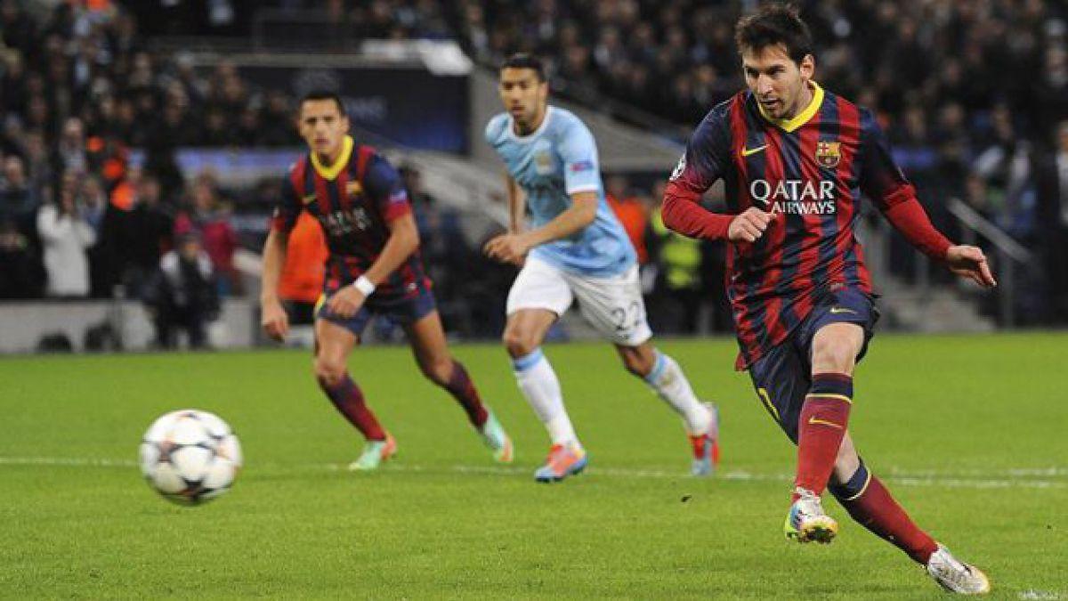 FC Barcelona saca ventaja sobre Manchester City en la Champions League
