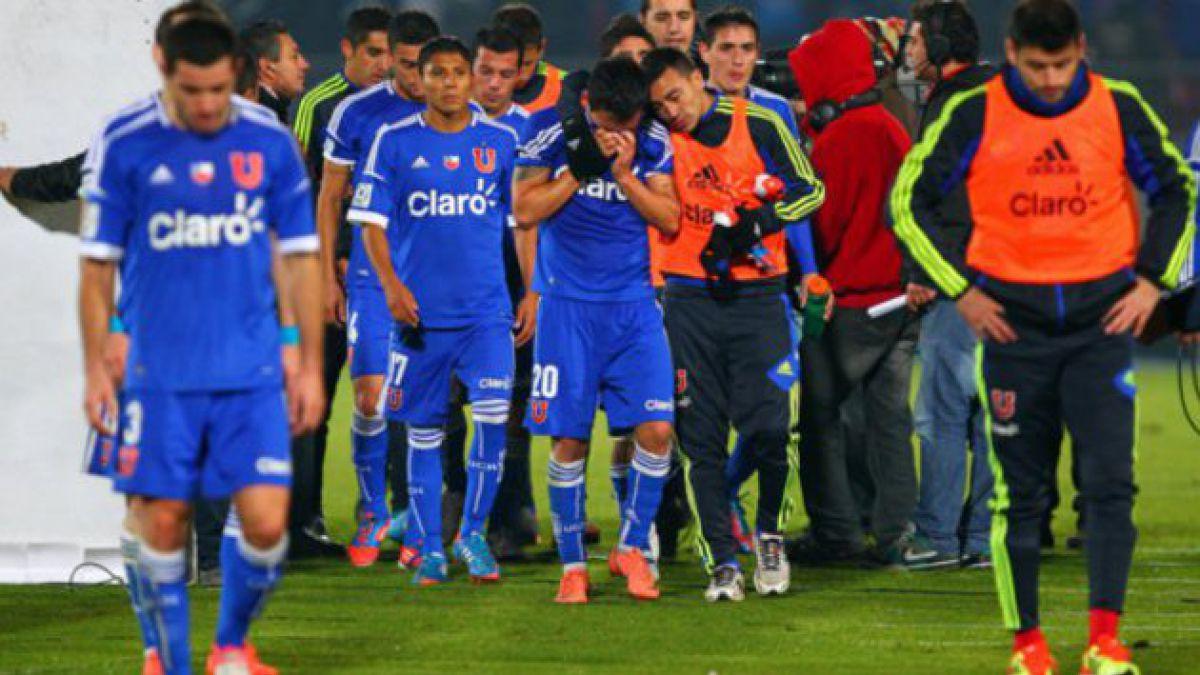 Universidad de Chile quedó fuera de la final de Copa Libertadores