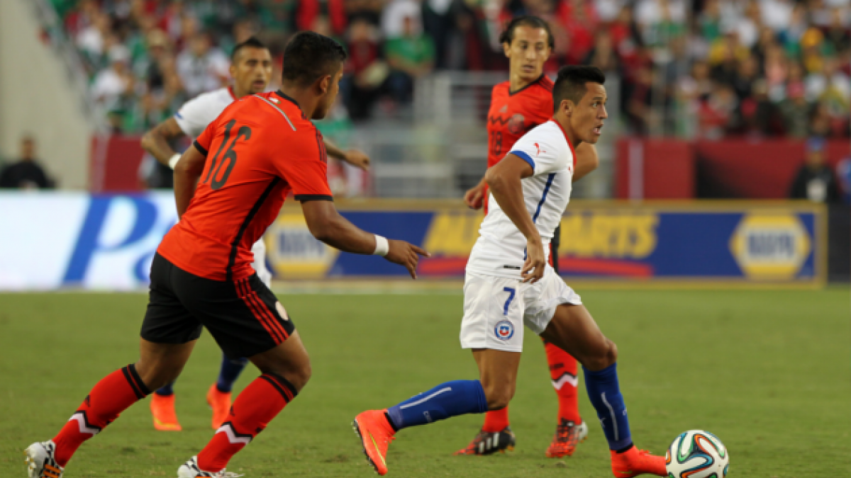 Chile y México igualaron a cero en el primer amistoso de la Roja tras el Mundial