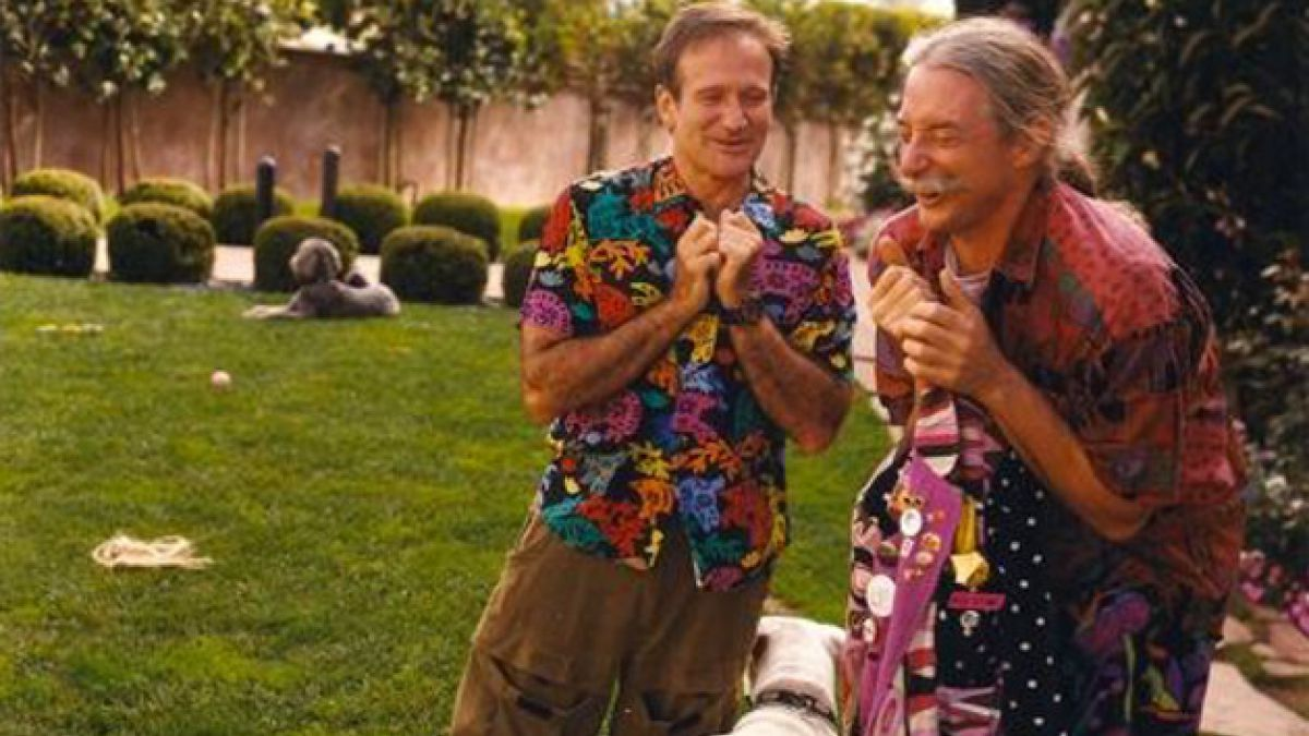 "Esta es la despedida del verdadero ""Patch Adams"" a Robin Williams"