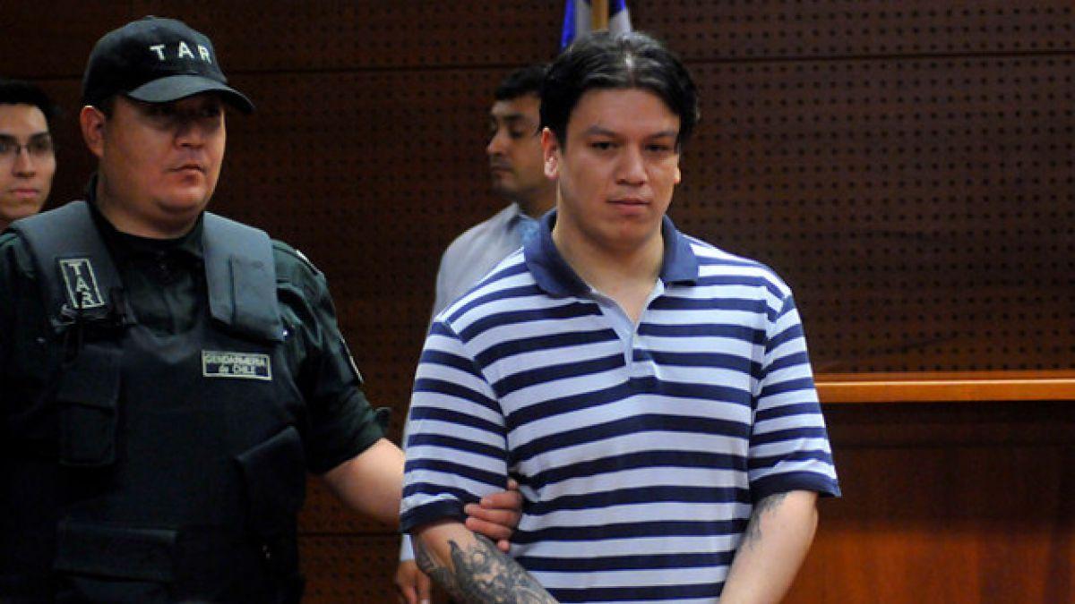 Culpable de homicidio de Daniel Zamudio inicia huelga de hambre seca