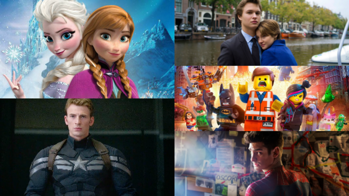 Las 15 películas que han liderado la taquilla chilena este primer semestre