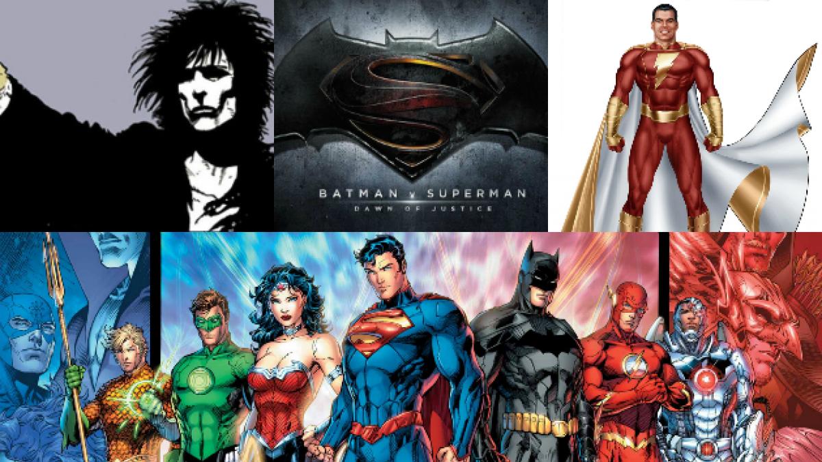 Las 7 películas que Warner y DC Comics tendrían planificadas hasta 2018