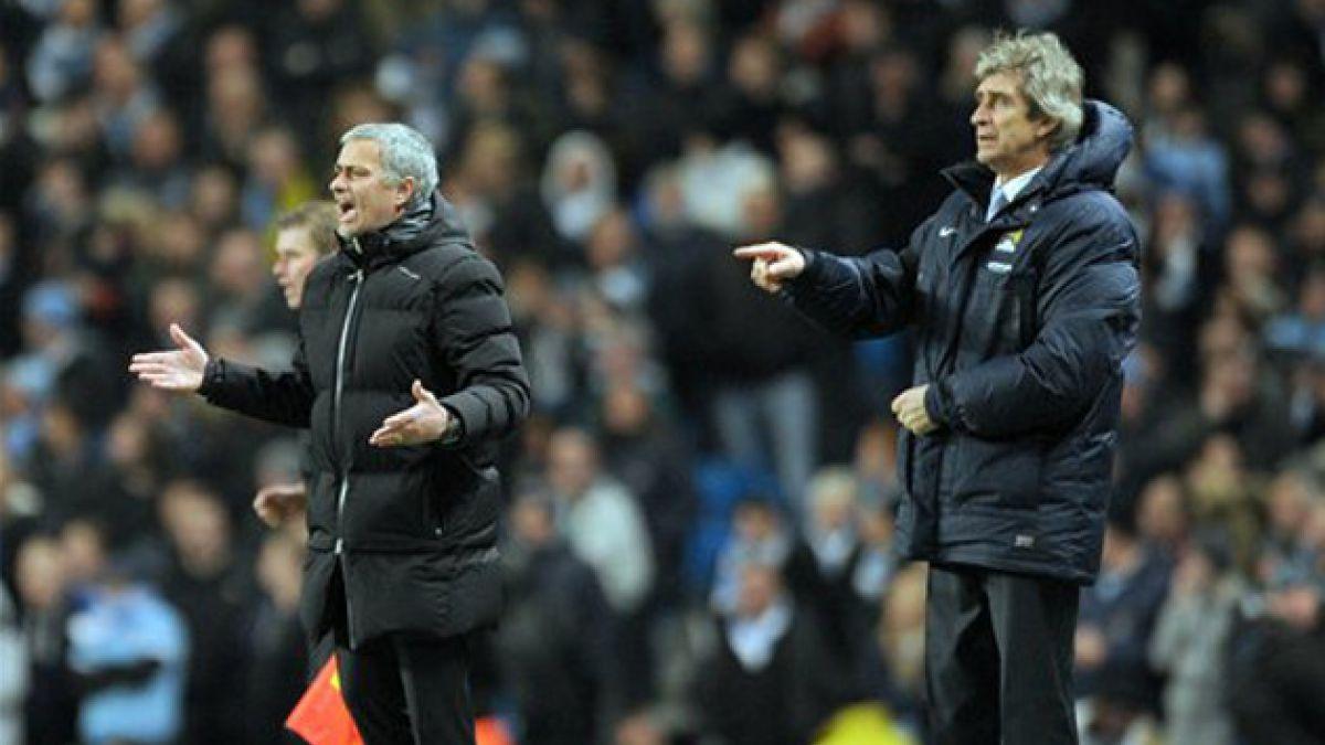 José Mourinho y la derrota contra Pellegrini: El Manchester City debió acabar con nueve jugadores