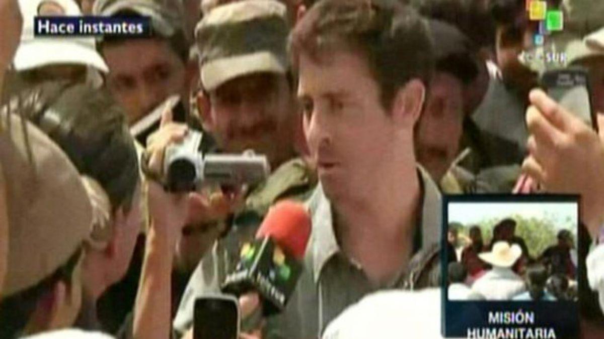 FARC libera a periodista francés