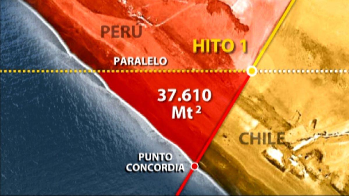 Así transcurre la marcha peruana que busca ingresar al triángulo terrestre