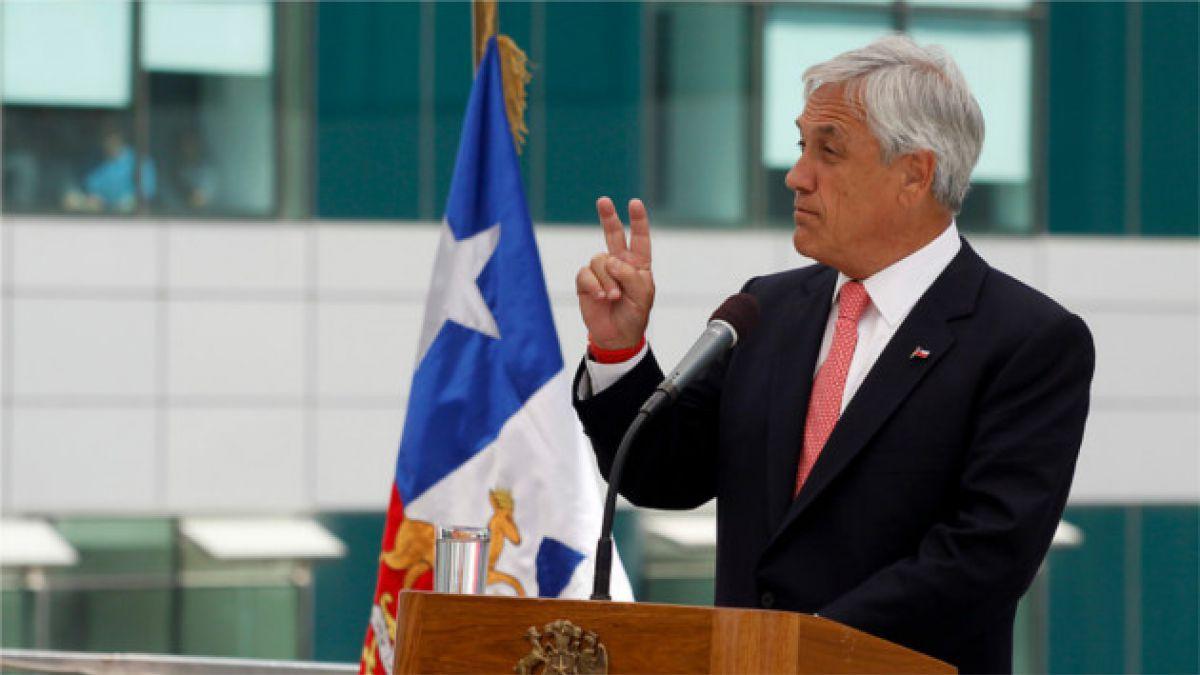 Presidente Piñera cifra en 97% el avance de reconstrucción tras el 27-F