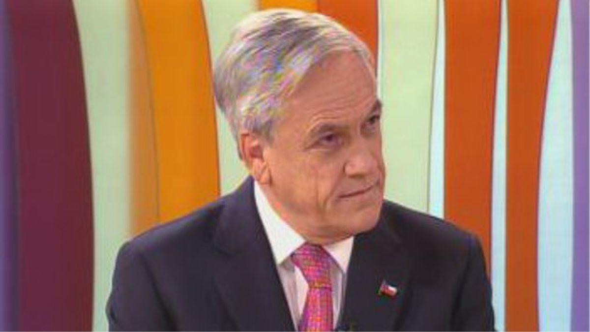 Presidente Piñera: No me corresponde sacar al pizarrón a ningún candidato