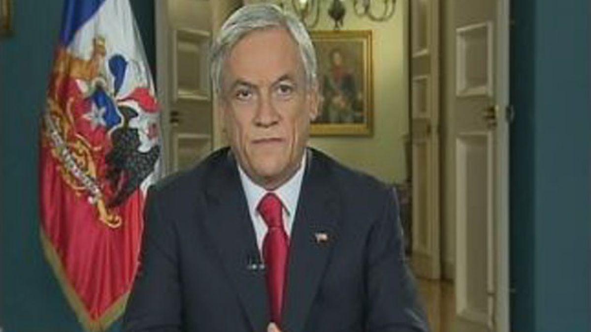 """Piñera y reforma tributaria: """"Cuando un presidente pide por Chile no se humilla"""""""