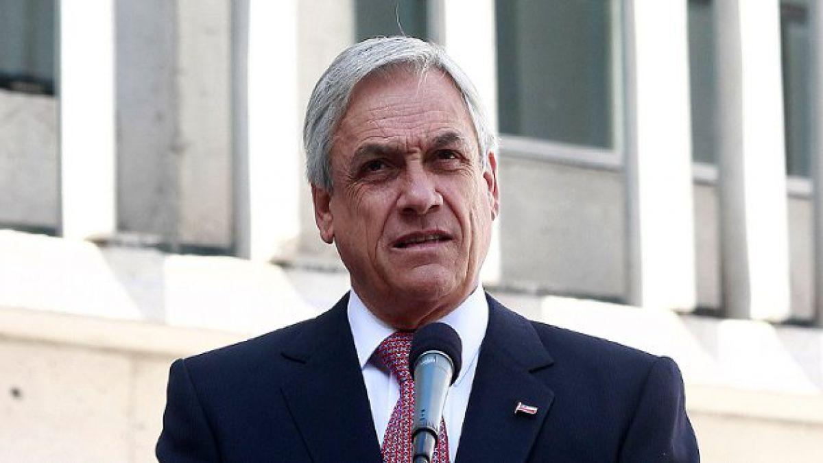 """Presidente Piñera sufre nuevo """"lapsus"""" durante discurso"""