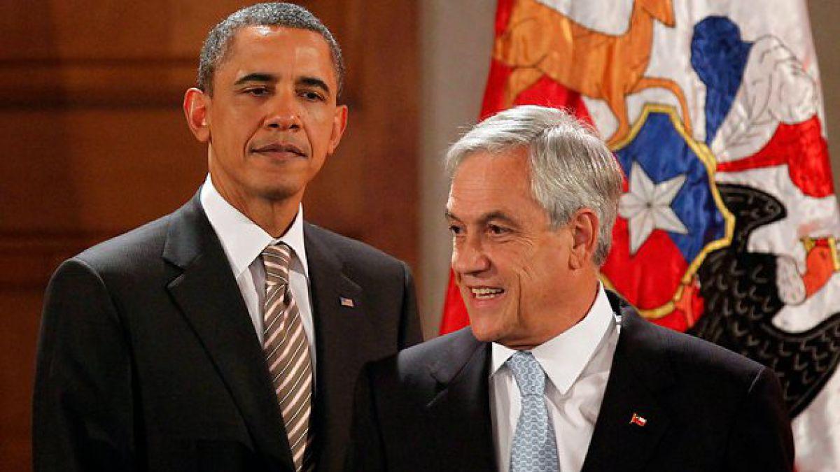 Presidente Piñera se reunirá con Obama en visita oficial