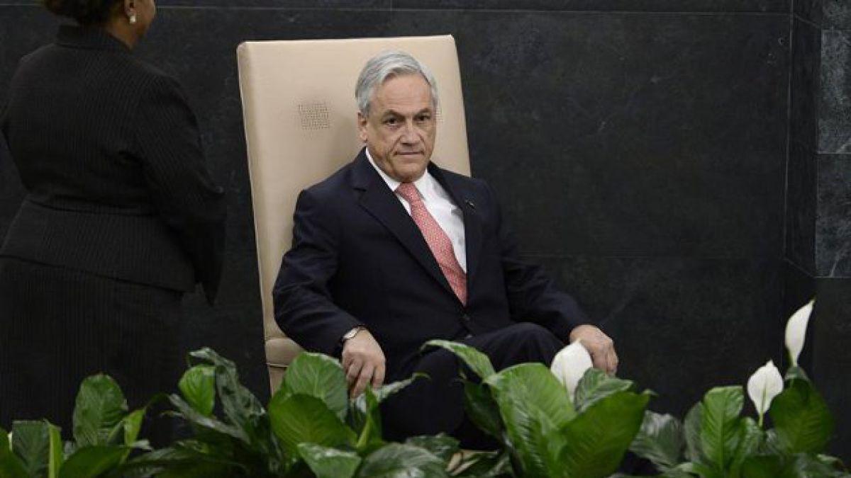 Sebastián Piñera se dirige ante la Asamblea General de la ONU