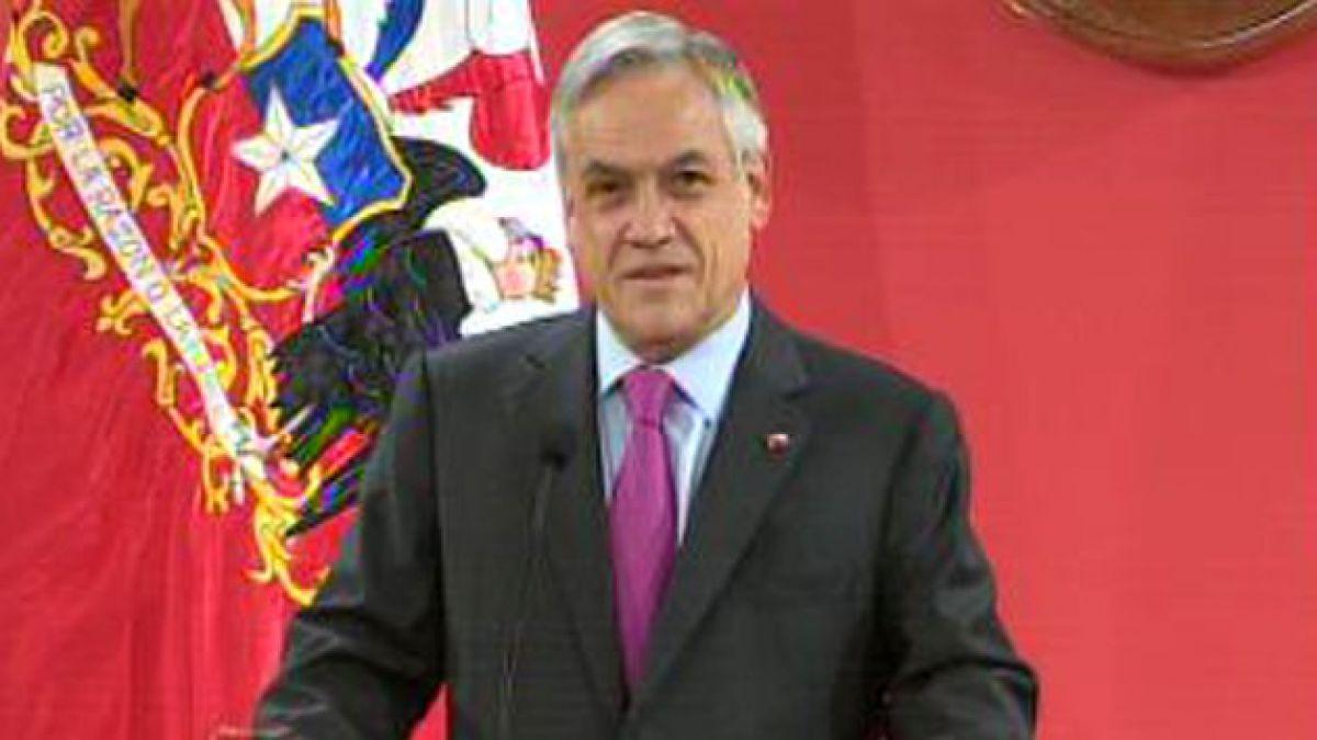 """Presidente Piñera expresa su """"genuina alegría"""" por nuevo Papa"""