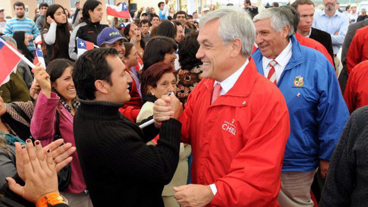 Piñera reafirma compromiso de completar reconstrucción durante su mandato
