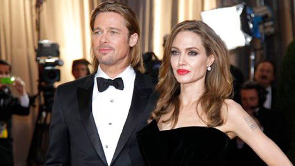 Brad Pitt y Angelina Jolie se casan