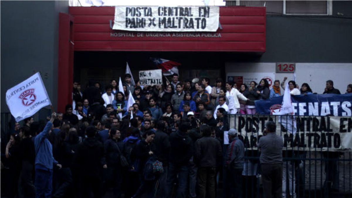 Trabajadores de la ex Posta Central podrían levantar paro nacional