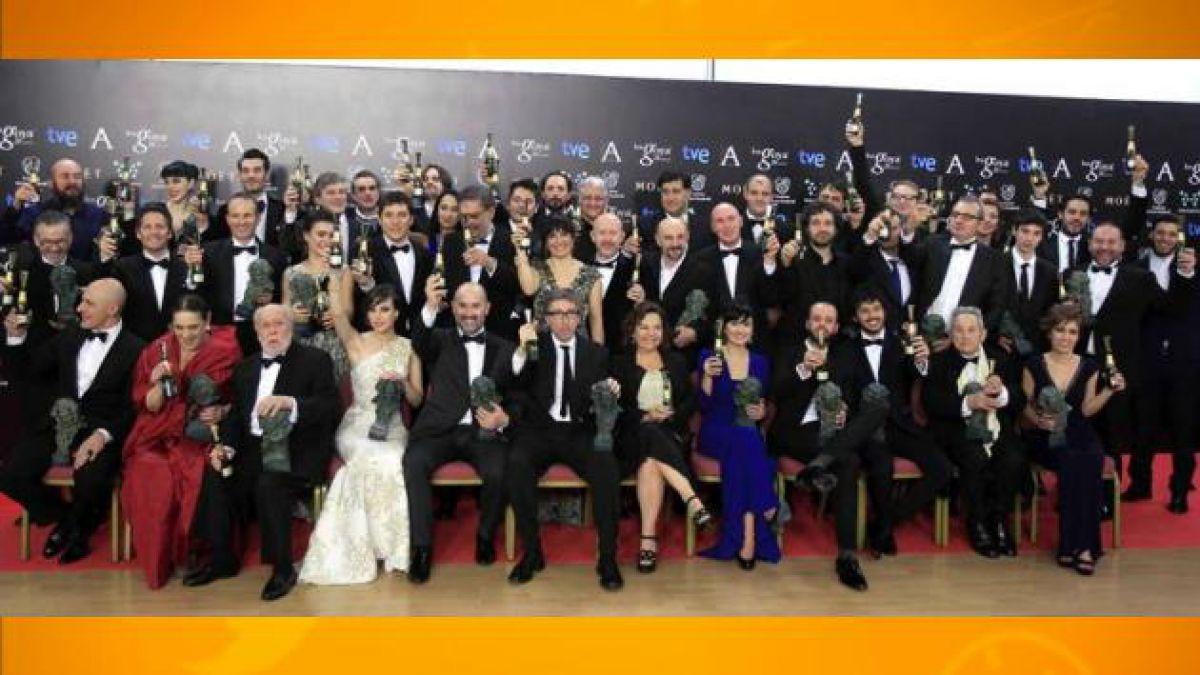Estos fueron los ganadores de los Premios Goya