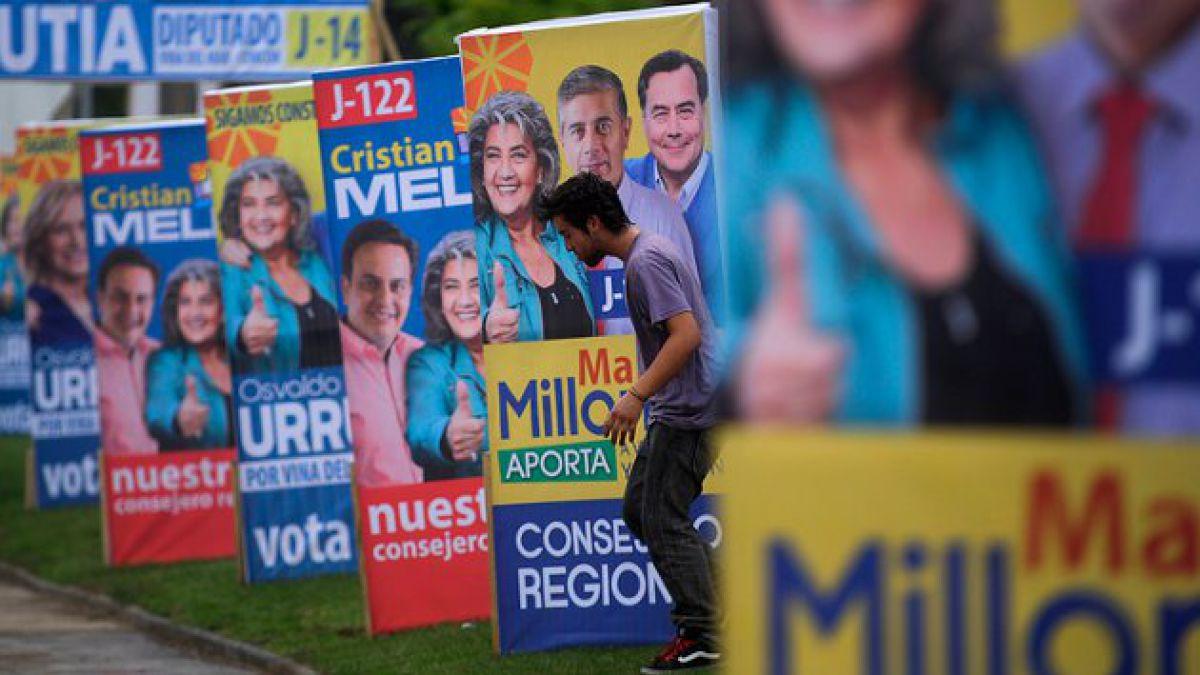 Intendencia informa plazos para retiro de propaganda electoral