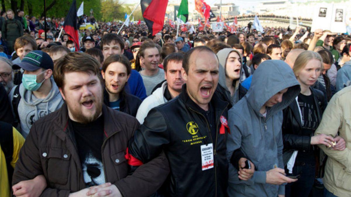 Rusia: Opositor es condenado a 3 años de cárcel por participar en protesta contra Putin