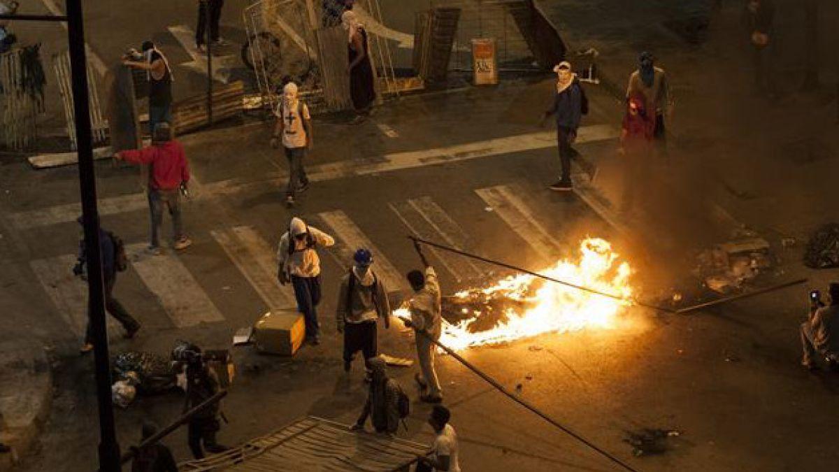 Protestas en Venezuela han dejado 174 detenidos hasta el momento