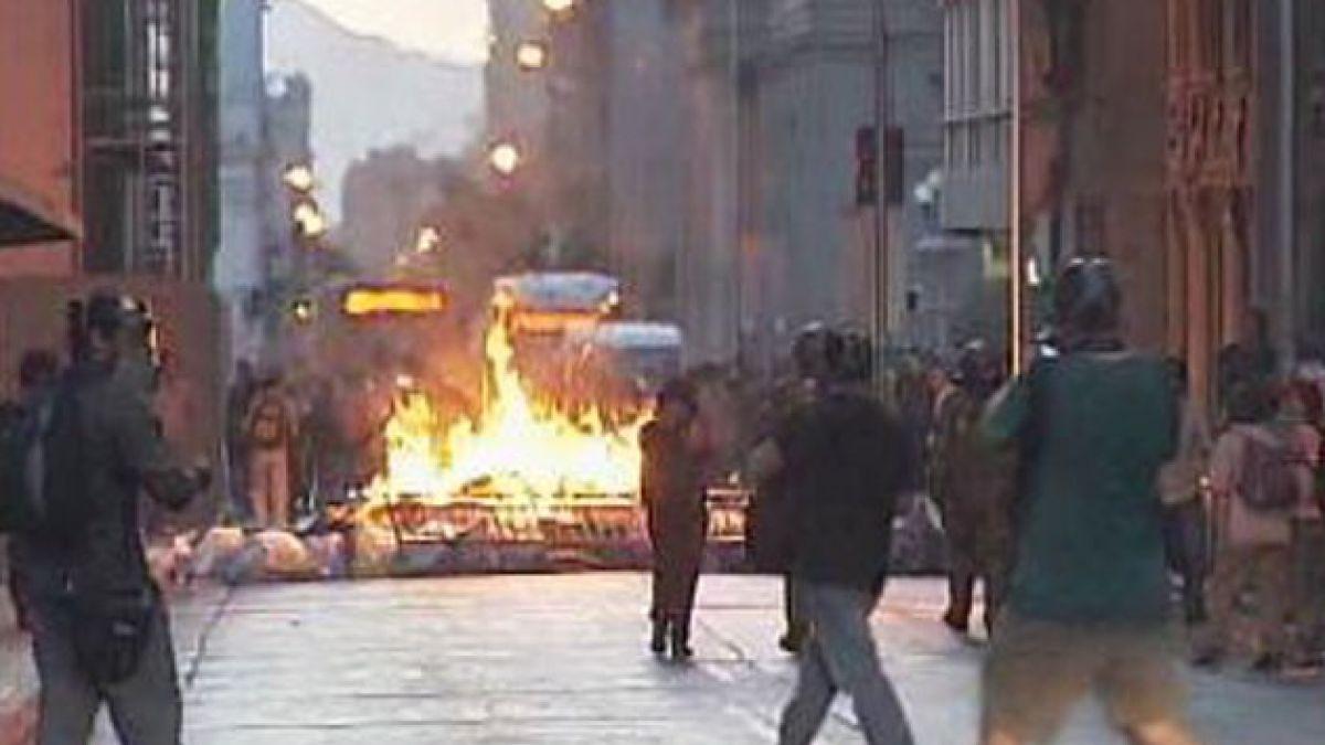 Autoridades elaboran protocolo para manifestaciones en Santiago