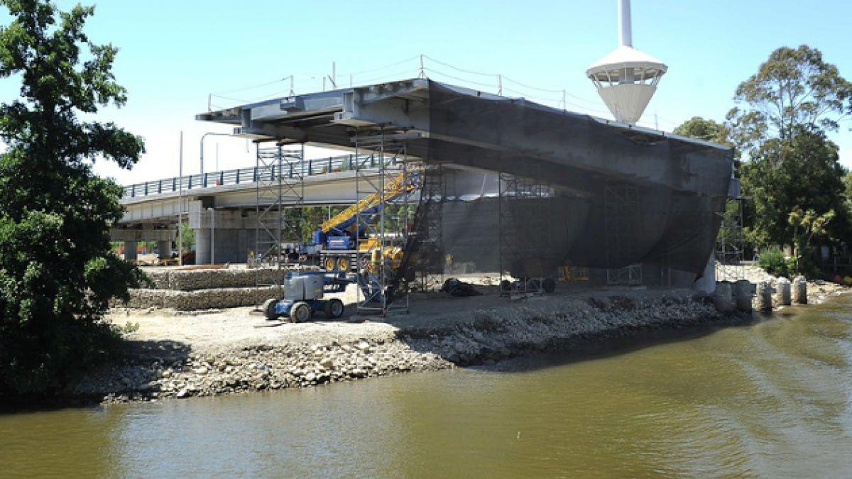 Informe advirtió errores en construcción de puente Cau Cau en 2013