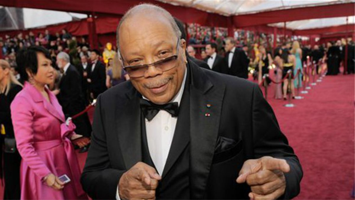 Quincy Jones y Michael Caine celebraron sus 80 años