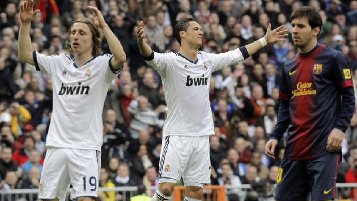 Real Madrid venció nuevamente al Barcelona