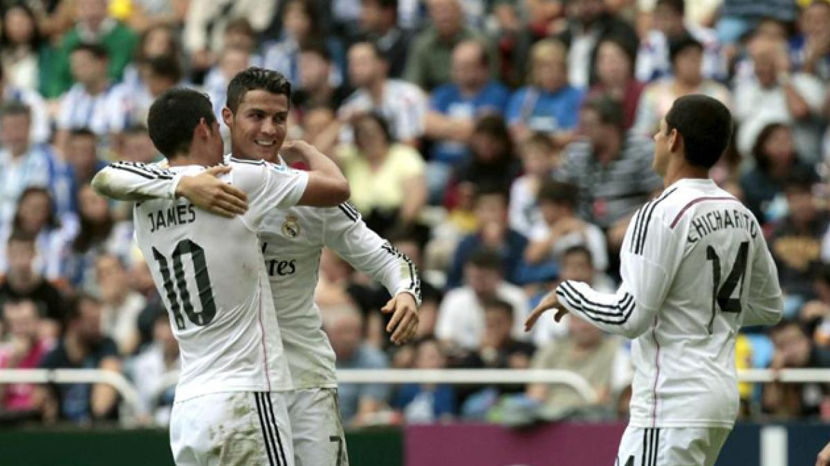 El Madrid hace historia en Riazor: nunca había marcado 8 goles fuera de casa
