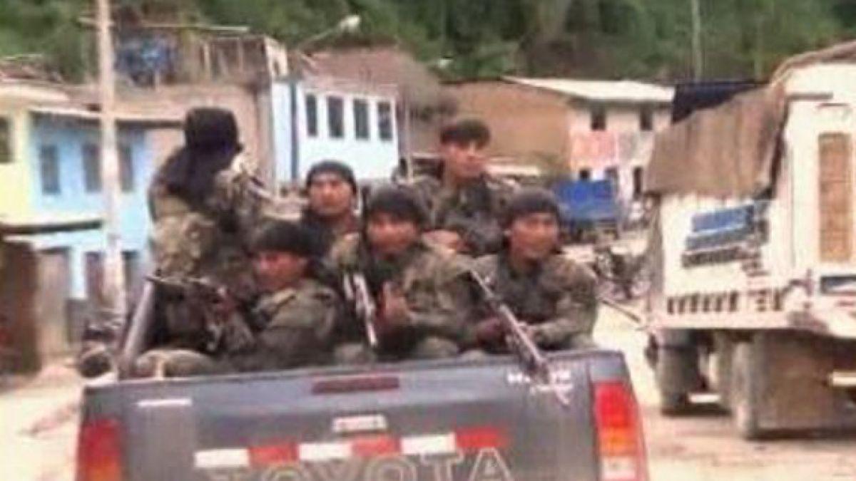 Policía peruana acordona zona donde estarían 40 trabajadores secuestrados por terroristas