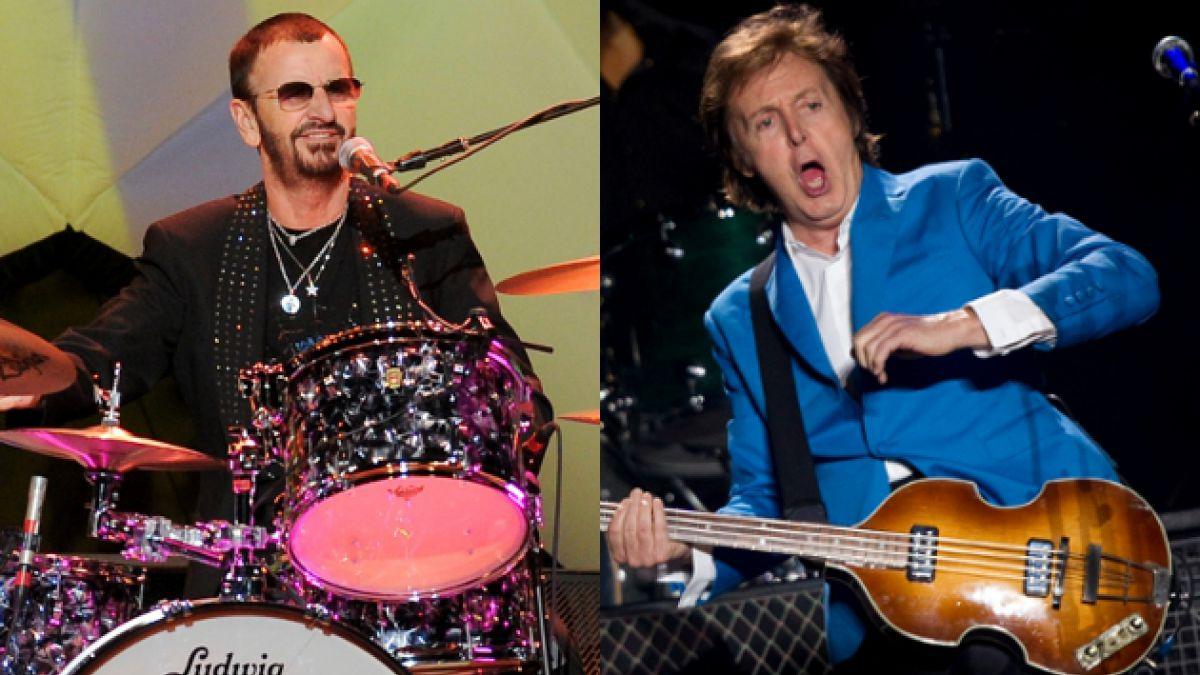 Confirmado: Ringo Starr y Paul McCartney tocarán juntos nuevamente