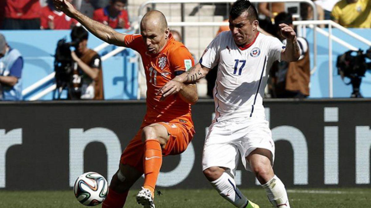 """Arjen Robben y eventual arribo de Vidal a Bayern Munich: """"Puede ayudar a cualquier equipo"""