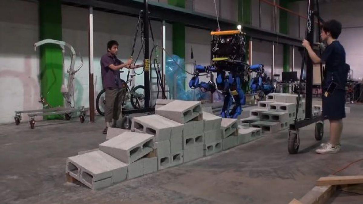 Creación japonesa sorprende en competencia de robots