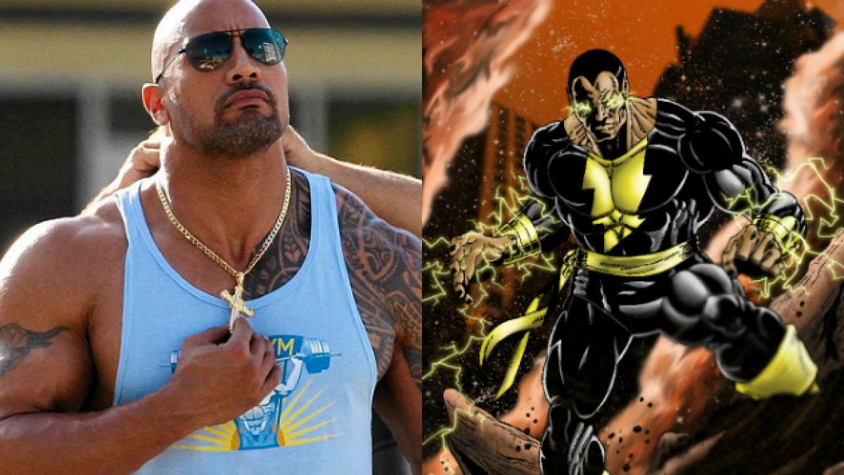 """""""La Roca"""" mantiene dudas sobre su futuro como superhéroe: Podría ser Black Adam"""
