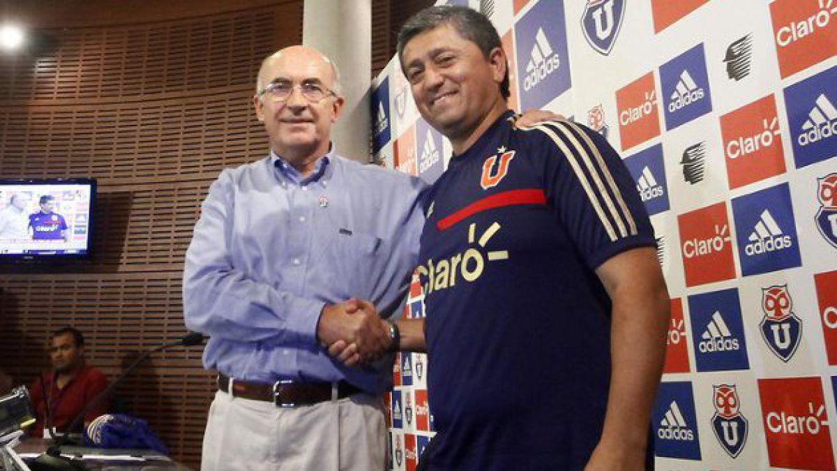 La U tiene nuevo entrenador